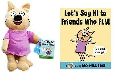"Cat The Cat 9"" plush w/book Let's Say HI to Friends,NEW"