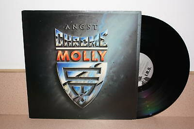 Angst Chrome Molly promo vinyl LP I.R.S. Metal 42199