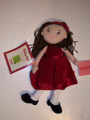 NWT Gymboree Classic Holiday Gymbelle Red Dress Doll