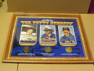 Petty Dynasty Autographed Collectible,1997 Optimum Cert