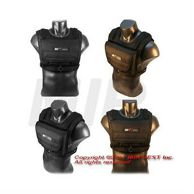 MiR MV 20Lbs Weight Exercise Adjustable Weighted Vest