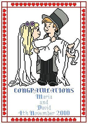 Wedding Sampler Cross Stitch Pattern