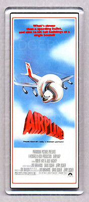 AIRPLANE! movie poster LARGE FRIDGE MAGNET
