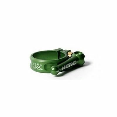 KCNC SC10 AL7075 Mountain Road Bike Quick Release Seatpost Clamp 31.8mm - Green
