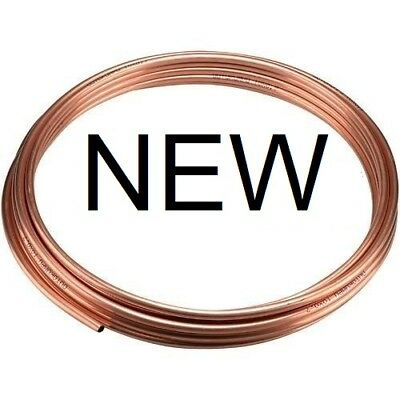 NEW microbore copper central heating plumbing pipe/tube GAS water.U choose size