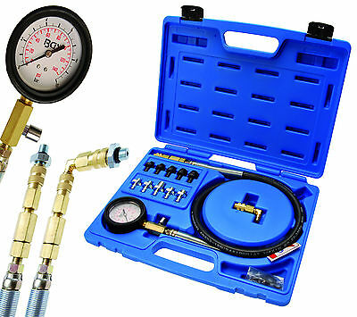 BGS Germany CDI Diesel Petrol Oil Pump Pressure Leak Tester Test Kit All Cars A+