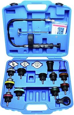 BGS Germany 18-pc Trade Quality Radiator Pressure Test Kit 4 Most Cars Warranty!