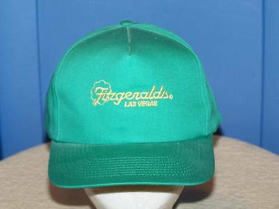 FITZGERALDS Casino Hotel LAS VEGAS Embroidered Hat NEW
