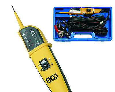 BGS Germany Auto Electrician Circuit Continuity Tester Multimeter Probe 6-24v