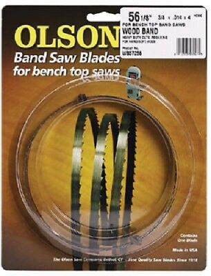 """Olson Band Saw Blade 2 Pack, 1/4 Wide x 56-1/8"""" Long 32 TPI"""