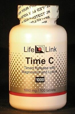 Vitamin C (Time-release)  1000 mg x 100 tabs