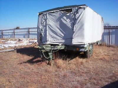 Field Food Serving Trailer 13' X 15' Portable