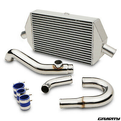 Aluminium Front Mount Intercooler Kit Fmic For Mitsubishi Evo 7 8 9 Vii Viii Ix
