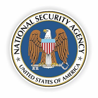 NSA Seal Sticker National Security Agency