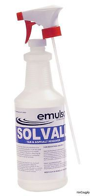 Solvall Tar, Asphalt, Sealer, Oil & Grease Remover, Cleaner, Non-Foaming