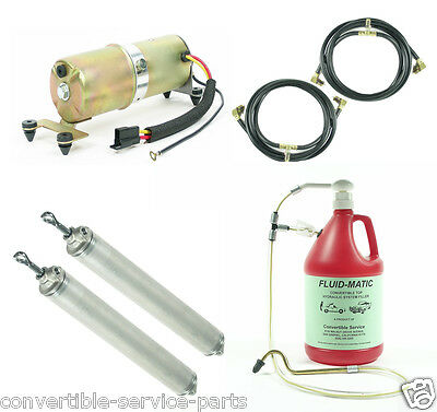 1959 1960 GM Full Size Convertible System Cylinders Hoses Motor + Fill Tool
