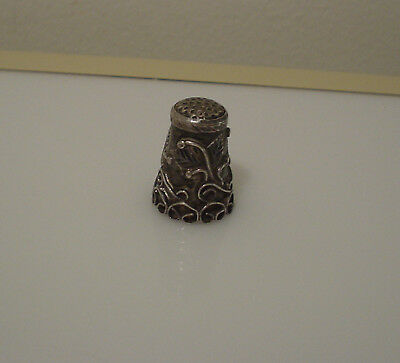 Sterling Silver 925 thimble Mexico EDH eagle 3
