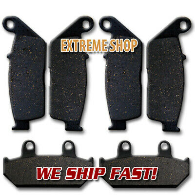 Suzuki Front + Rear Brake Disc Pads AN 650 K/A Burgman (2003-2014) NEW