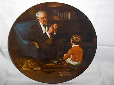 The Tycoon`6Th Collectors Plate In Collection`E knowles