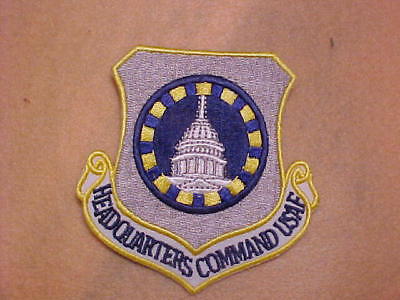 U.S AIR FORCE HEADQUARTERS COMMAND PATCH