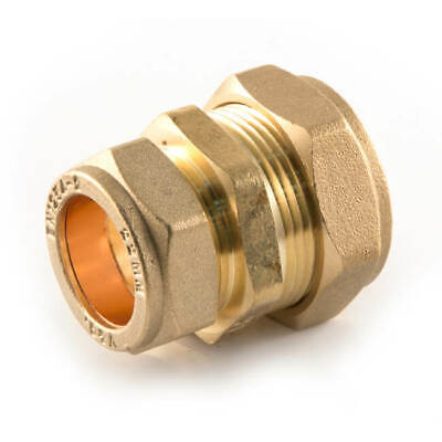 NEW BRASS plumbing pipe compression reducing coupler joiner