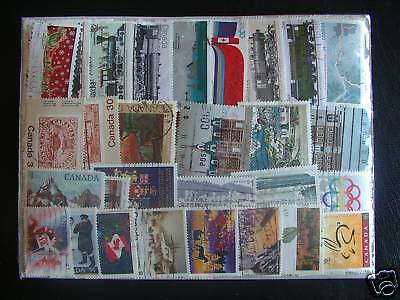 500 Timbres Canada : 500 Timbres Tous Differents