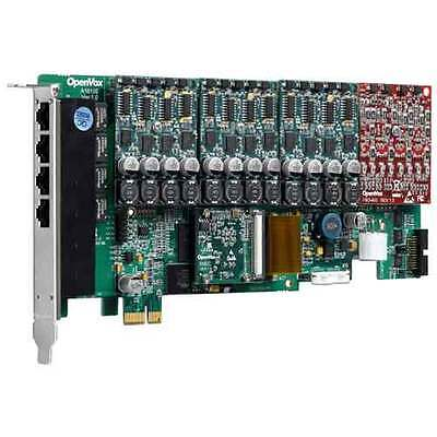 OpenVox AE1610E31 16 Port Analog PCIe card 12x FXS, 4x FXO with Echo Cancelation