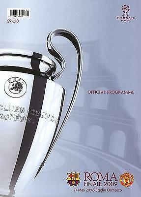 2009 CHAMPIONS LEAGUE FINAL - MAN UTD v BARCELONA