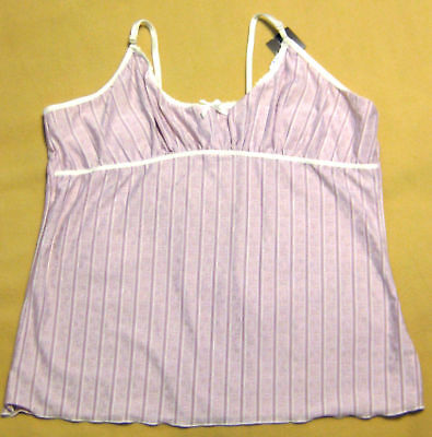 New Jessica Pearl Grey/Ivory Grey/Pink Camisole