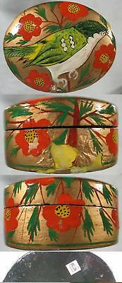 1930's Real Nice Lacquered Trinket or Jewelry Box