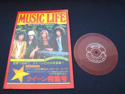 Queen Forever Japan Book with Flexi in 1975 Freddie Mercury