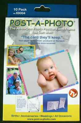 Post A Photo - 10 pack Photo Postcards and Frames
