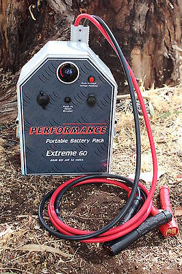 HD Jump Starter  3400A boat 4x4 caravan JUMP PACK 2 YEAR WARRANTY POWER SUPPLY