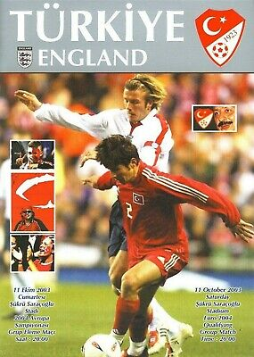 2003 - TURKEY v ENGLAND