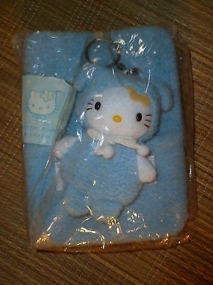 Sanrio Hello Kitty VINTAGE Organizer Address Datebook Plush Mascot '76, '00 NOS