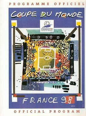 France 1998 Official World Cup Tournament Programme