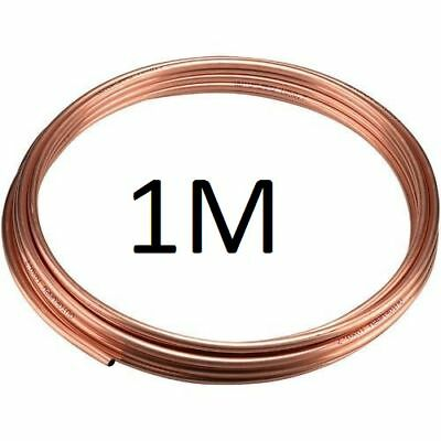 NEW 10mm outside diamter microbore copper heating plumbing pipe/tube x 1 Metre