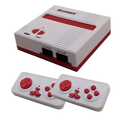 Retron 1 NES System Nintendo FC Game Console 8-Bit Top Loader - Red White