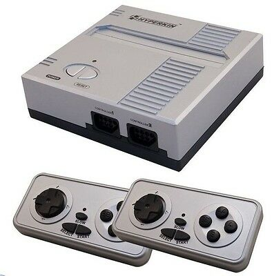 Retron 1 NES System Nintendo FC Game Console 8-Bit Top Loader - Silver