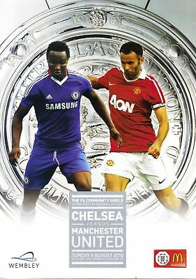 * 2010 COMMUNITY SHIELD - CHELSEA v MAN UTD *