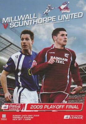 2009 LEAGUE ONE PLAY-OFF FINAL - SCUNTHORPE UNITED v MILLWALL