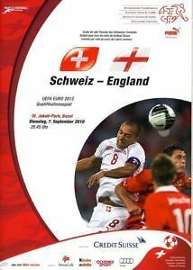 2010 - SWITZERLAND v ENGLAND