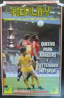 * 1982 FA CUP FINAL REPLAY - TOTTENHAM v QPR *
