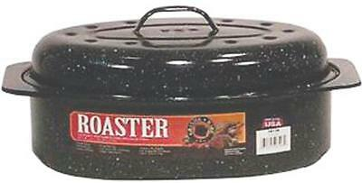 New F6106 5Lb Granite Cooker Oval Roaster With Cover 6926927