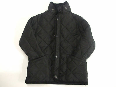 Kids / Boys Diamond Quilted Jacket (N49) Size 20 - 34