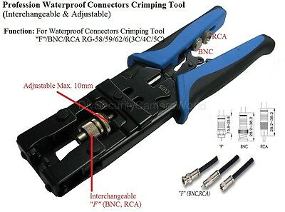 3 in 1 Compression Tool BNC/RCA CRIMP TOOL RG59/RG6