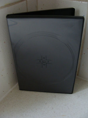 Case: DVD / CD Replacement - 1 - For 4 Discs Black 14mm
