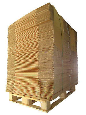 "30 Large Double Wall Cardboard removal boxes 30x18x18"" 1/2 Pallet"