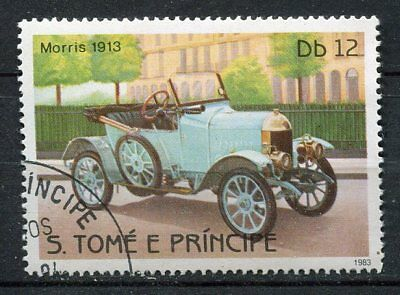 Timbre  Voiture Morris 1913
