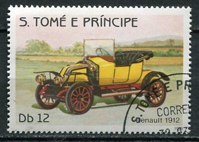 Timbre Voiture Evolution Renault 1912